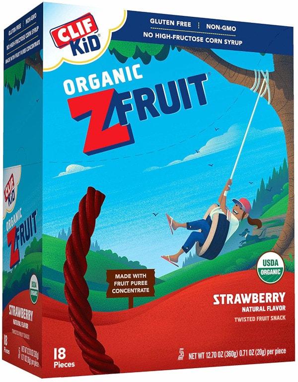 Clif Z Fruit Organic Fruit Rope