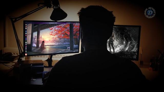 wallpaper-dois-monitores-gnome-ubuntu-hydrapaper