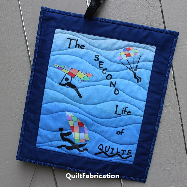 The Second Life of Quilts mini by QuiltFabrication