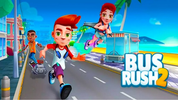 Download Bus Rush 2 Mod Apk Game