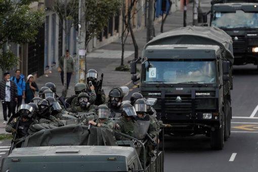 ONU comprueba uso innecesario y desproporcionado de la represión en Ecuador
