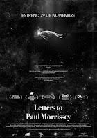 Estrenos cartelera española 29 Noviembre 2019: 'Letter to Paul Morrissey'