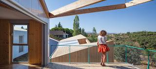 Casa de madera de Diseño en Madrid