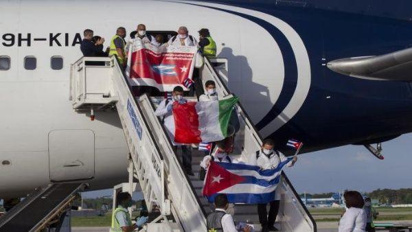 Ministro de Salud de Italia agradece labor de médicos cubanos