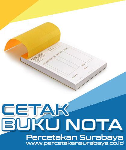 Cetak Nota Murah Surabaya