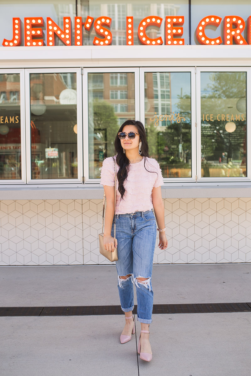 How to style boyfriend jeans