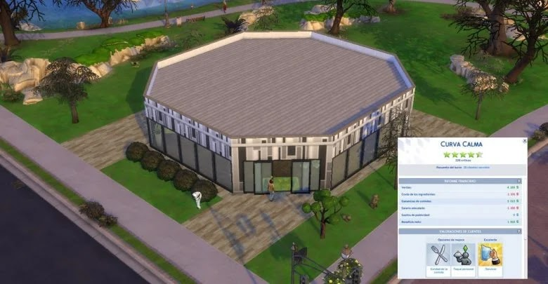 How to get 5 stars in a restaurant in The Sims 4: Gourmet Getaway