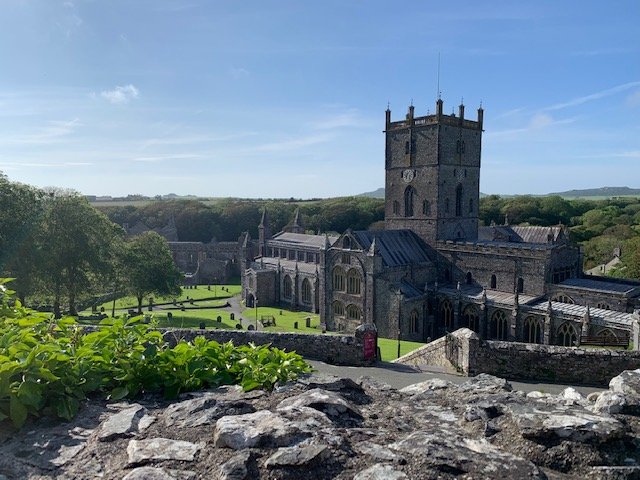 St David's Cathedral in Britain's smallest city