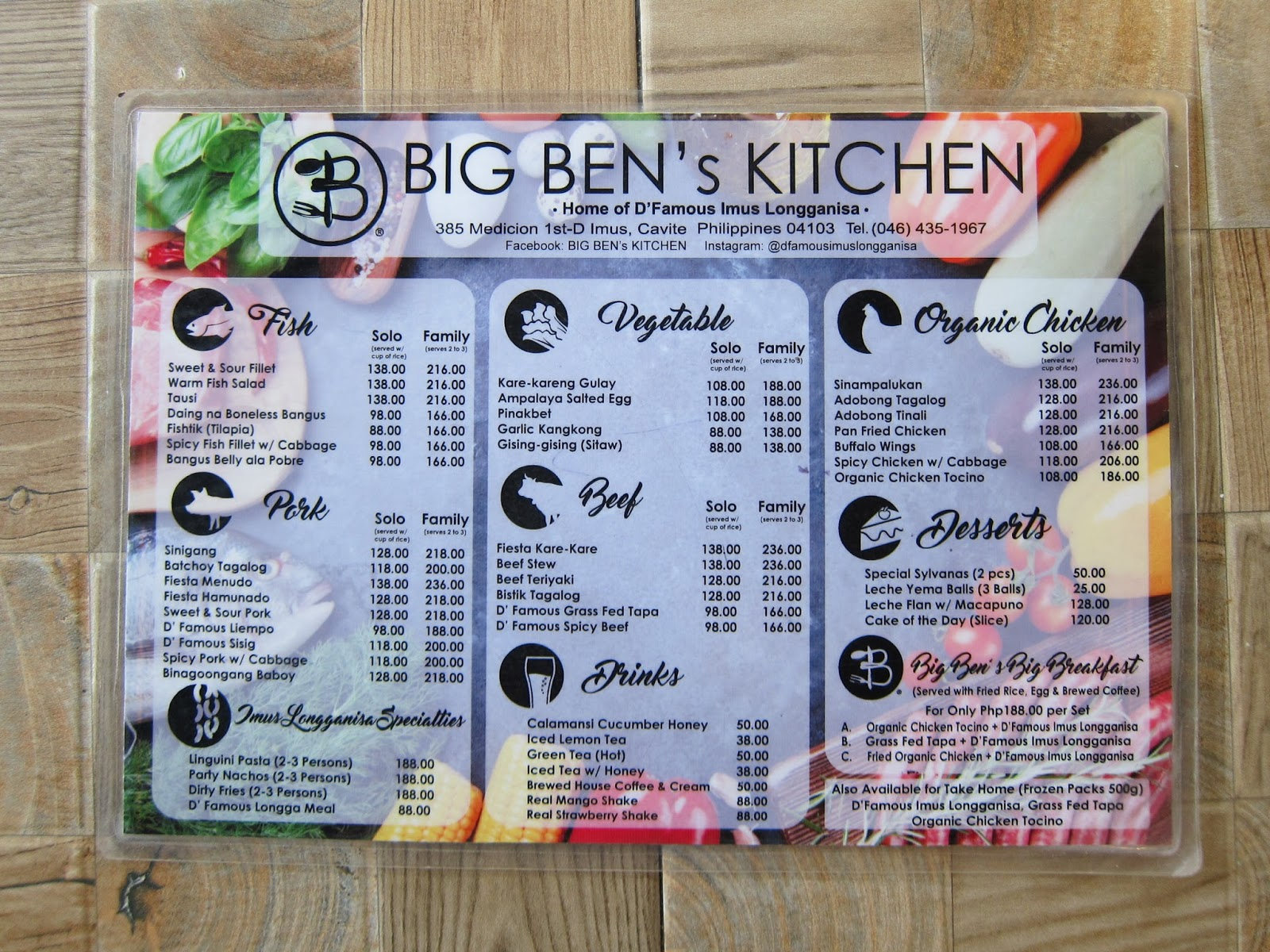 Lutong Cavite : Big Ben\'s Kitchen