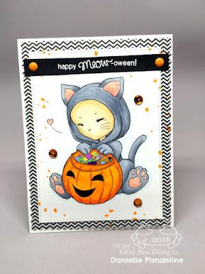 Kitty costume | Aurora Wings Digital Image | Card Created by Danielle Pandeline