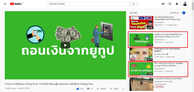 การทำหน้าปก Youtube - youtube video thumbnails