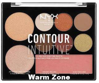 NYX 5 NEW Contour Intuitive Palettes, NYX Contour Intuitive Palettes