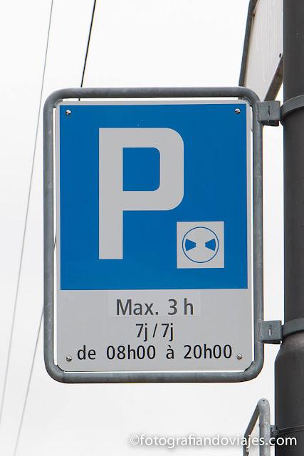 aparcamiento en Suiza