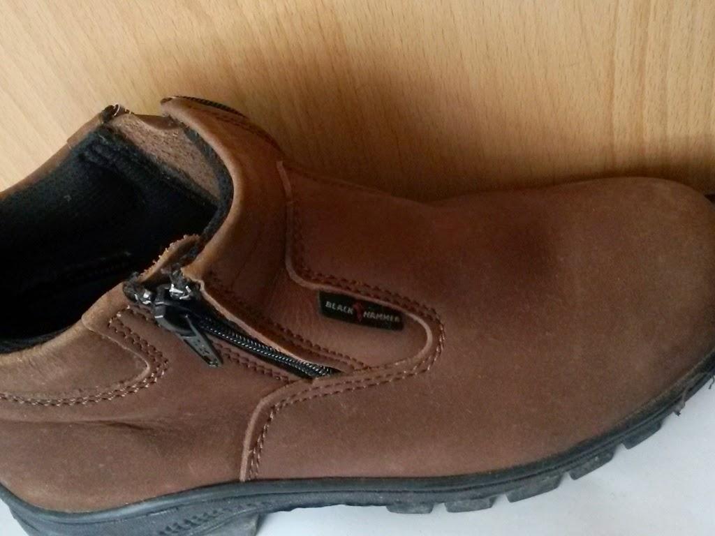 prelove safety shoes murah untuk kerja berat kasut black hammer preloved