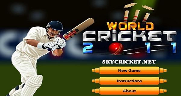 Online World Cricket 2011 Game