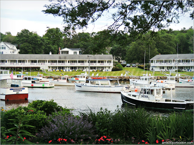 Lobster Shacks en la Costa Sur de Maine: Perkins Cove