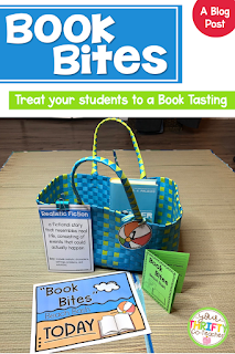 Introduce your students to a variety of genres and authors through a simple book tasting classroom transformation. They are an easy, engaging, and powerful way to introduce students to new books, authors, and genres while getting them excited about reading.