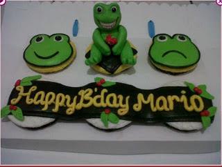 Foto Kue Ulang Tahun Anak Katak