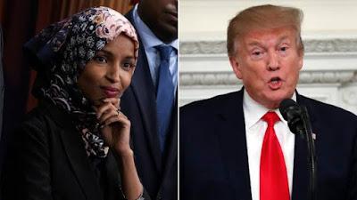 Ilhan Omar Berjuang Melawan Rasisme Presiden Trump Cs, Tanpa Aksi Bakar-bakar!