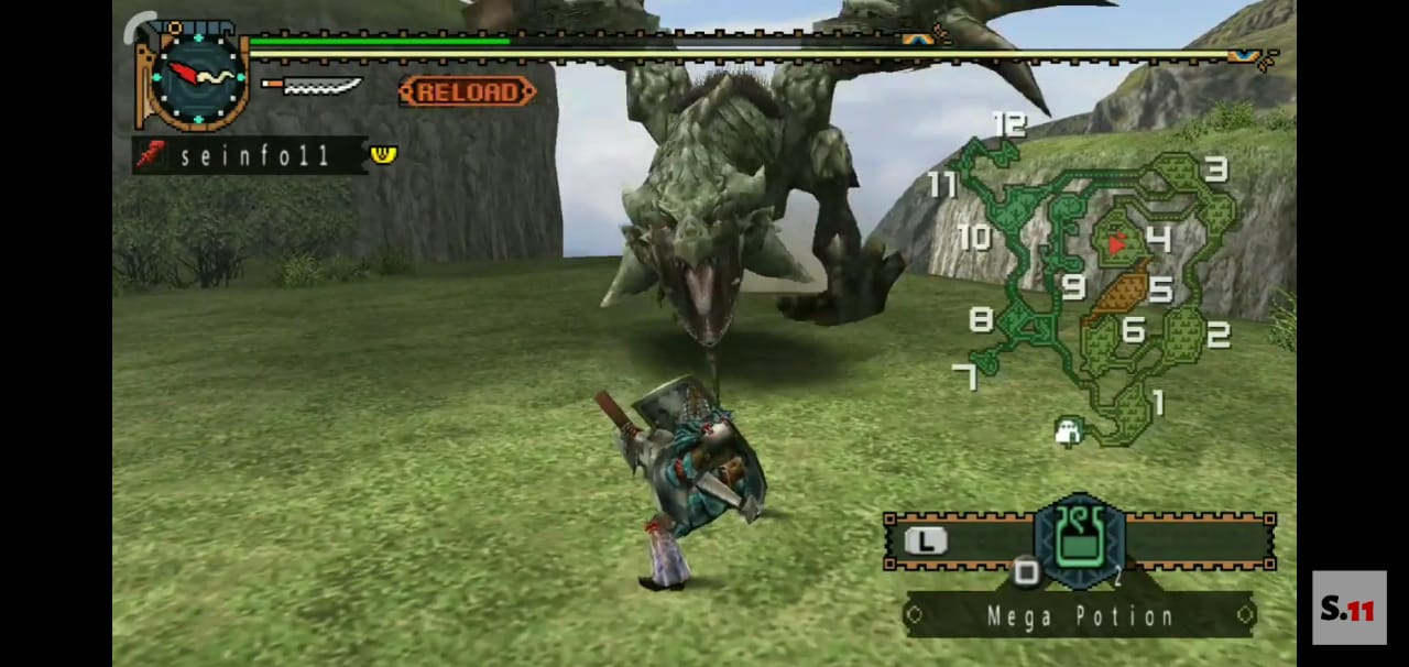 Monster Hunter Freedom Unite (PSP ISO) Free Download High Compress