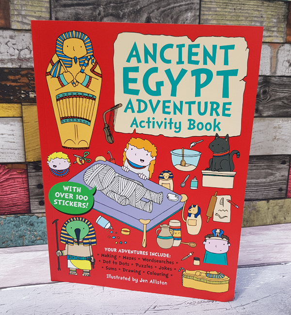 Ancient Egypt Activity Book - the perfect companion for kids