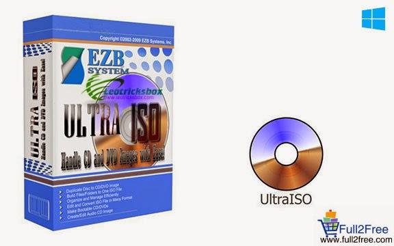 UltraISO Premium Edition 9.6.2.3059 + Keygen