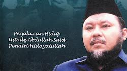 Profil Pendiri Hidayatullah KH Abdullah Said, Peraih Kalpataru Era Soeharto