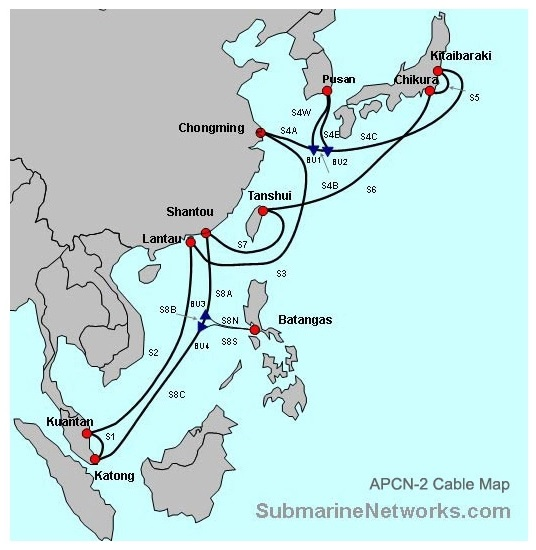 Why Slow Internet Connection In Malaysia Due To Submarine Cable Faults