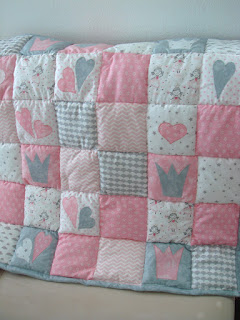 Ružová baby deka