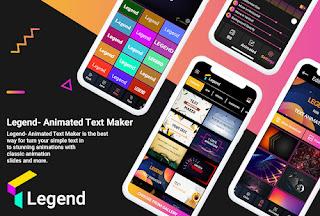 Legend Intro Maker Mod Apk (Animated Text)