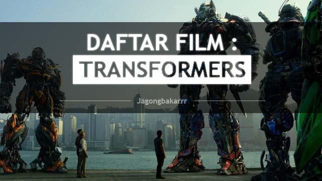 urutan film transformers