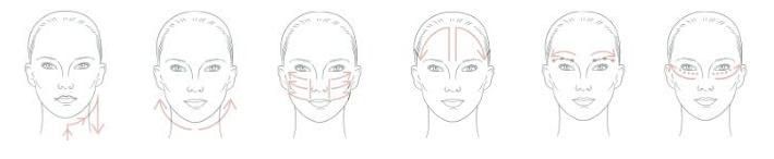 Application technique for Olverum Facial Oil