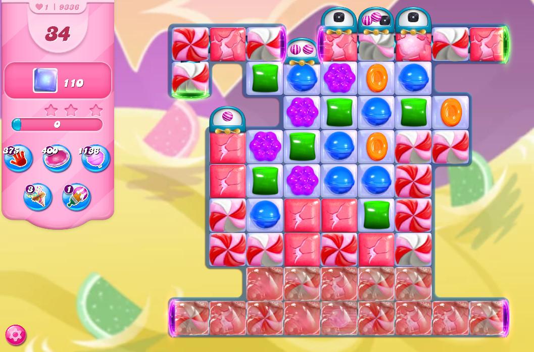 Candy Crush Saga level 9336
