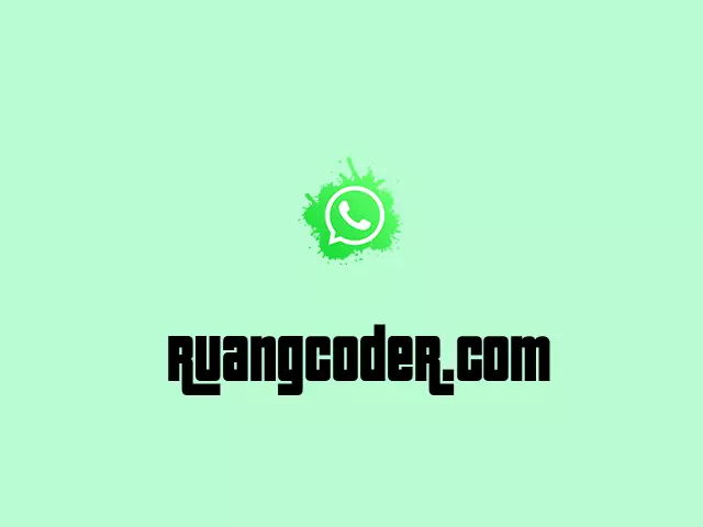 Cara Memasang Widget Whatsapp di Blogger
