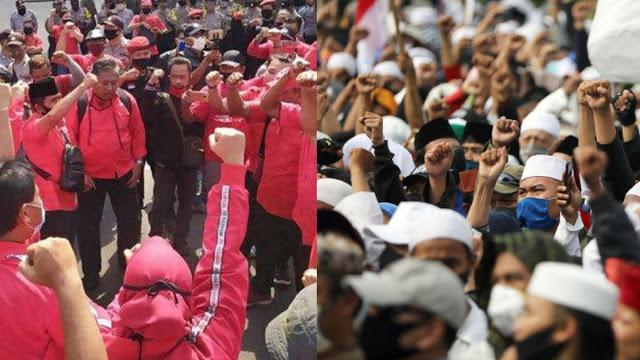 Pengamat Khawatir Pertikaian Sengit PDIP vs Massa Militan PA 212 yang Jumlahnya Besar