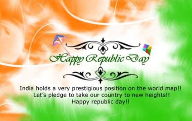 Happy Republic day greetings