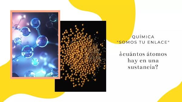 ▷ ¿Cuántos átomos hay en una sustancia?