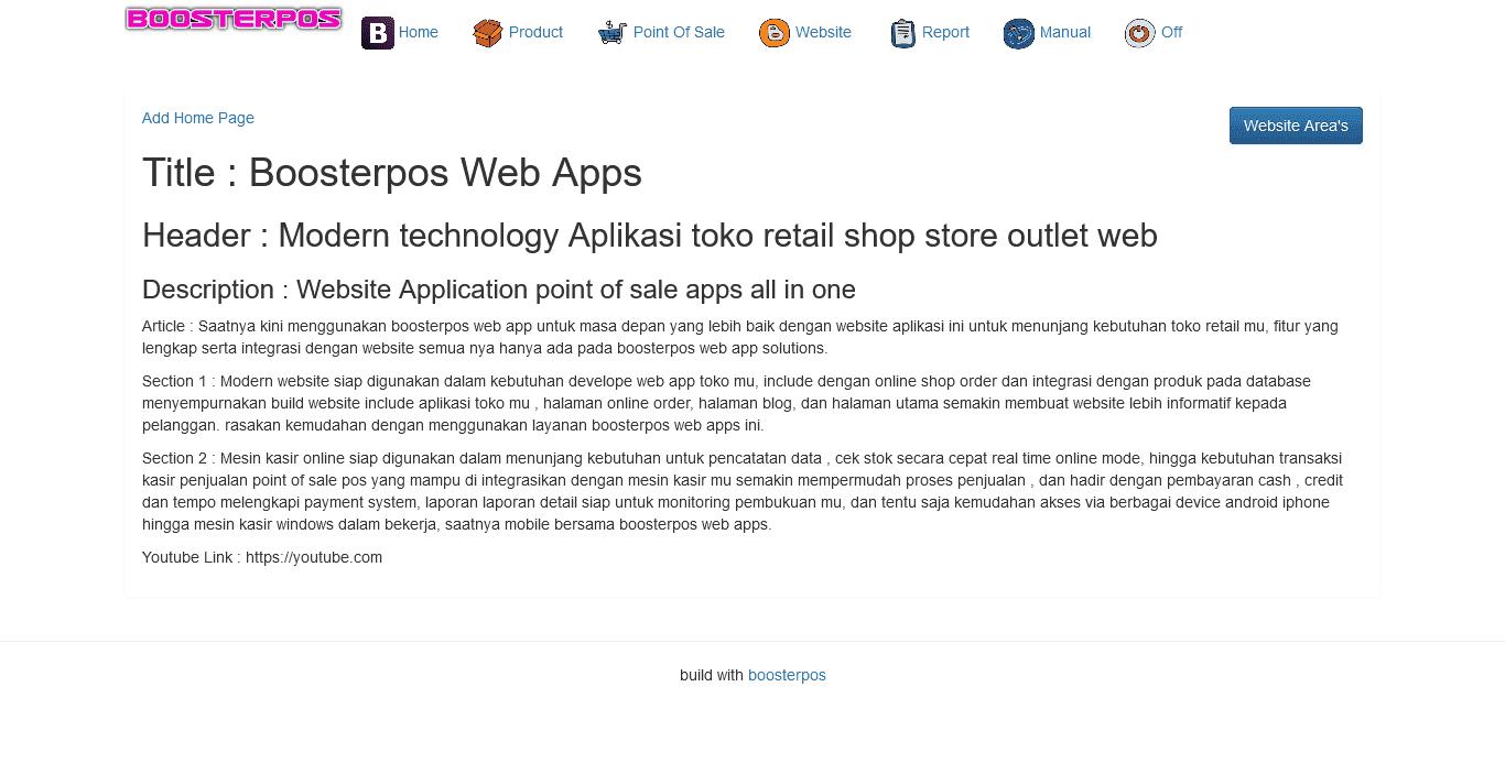 website toko online shop