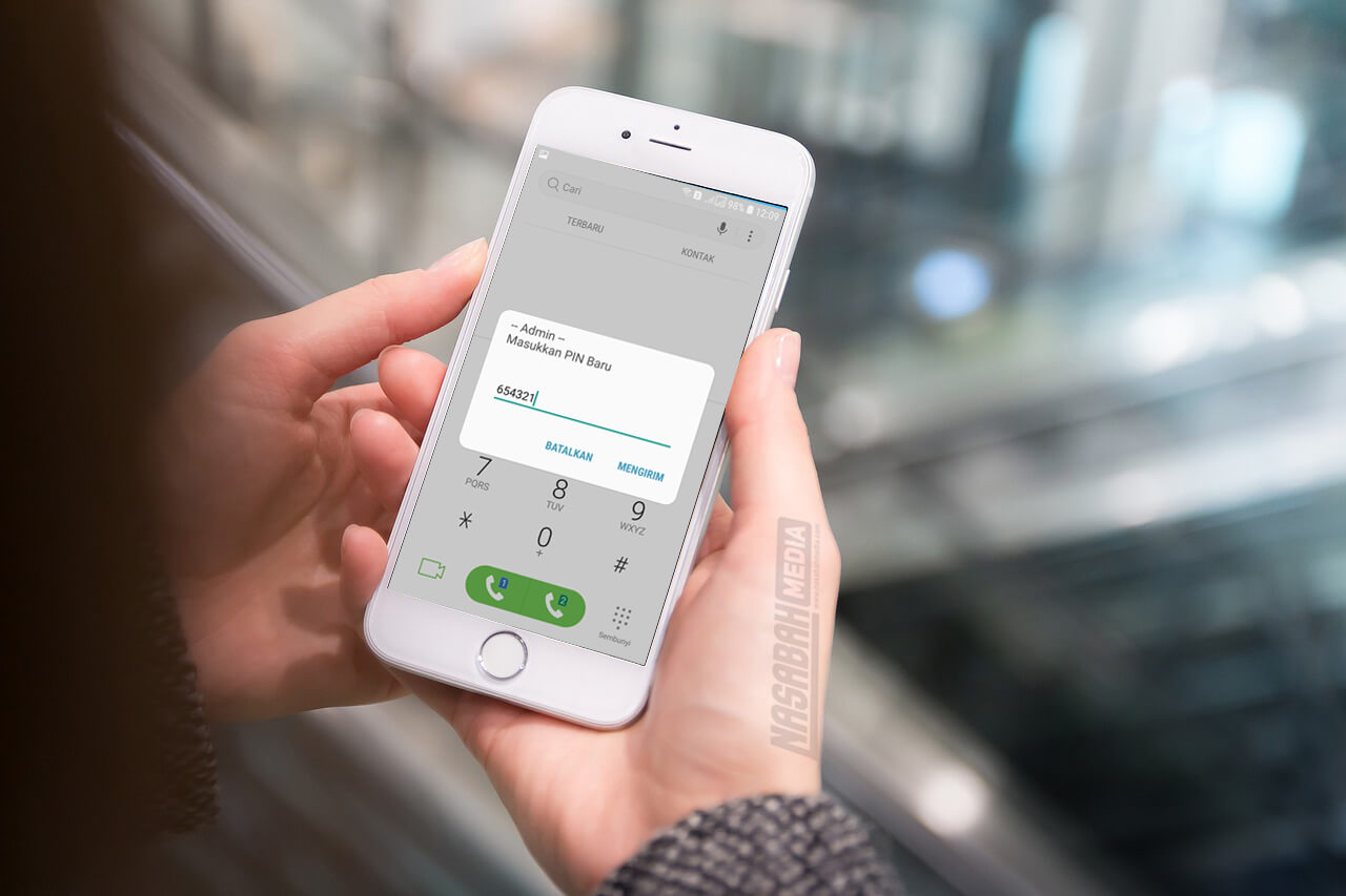 Ganti PIN SMS Banking Mandiri