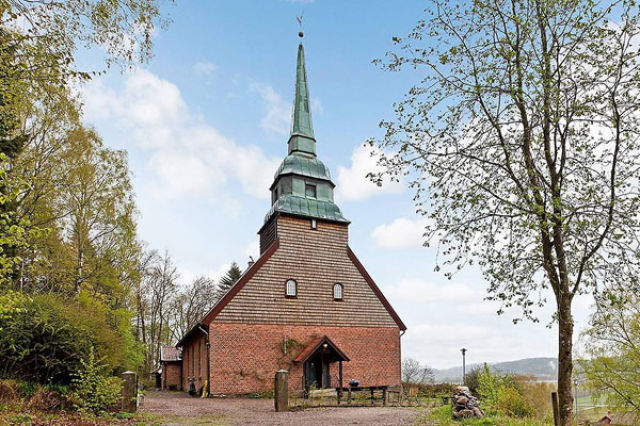 A Swedish Church Conversion That You Wouldn't Expect (15 Pics)