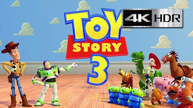 Toy Story 3 (2010) 4K UHD [HDR] Latino-Castellano-Ingles