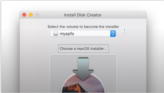 A USB drive - Install Disk Creator