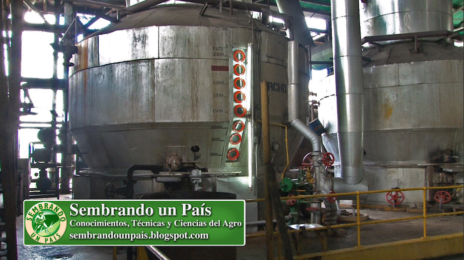 tachos de industria azucarera