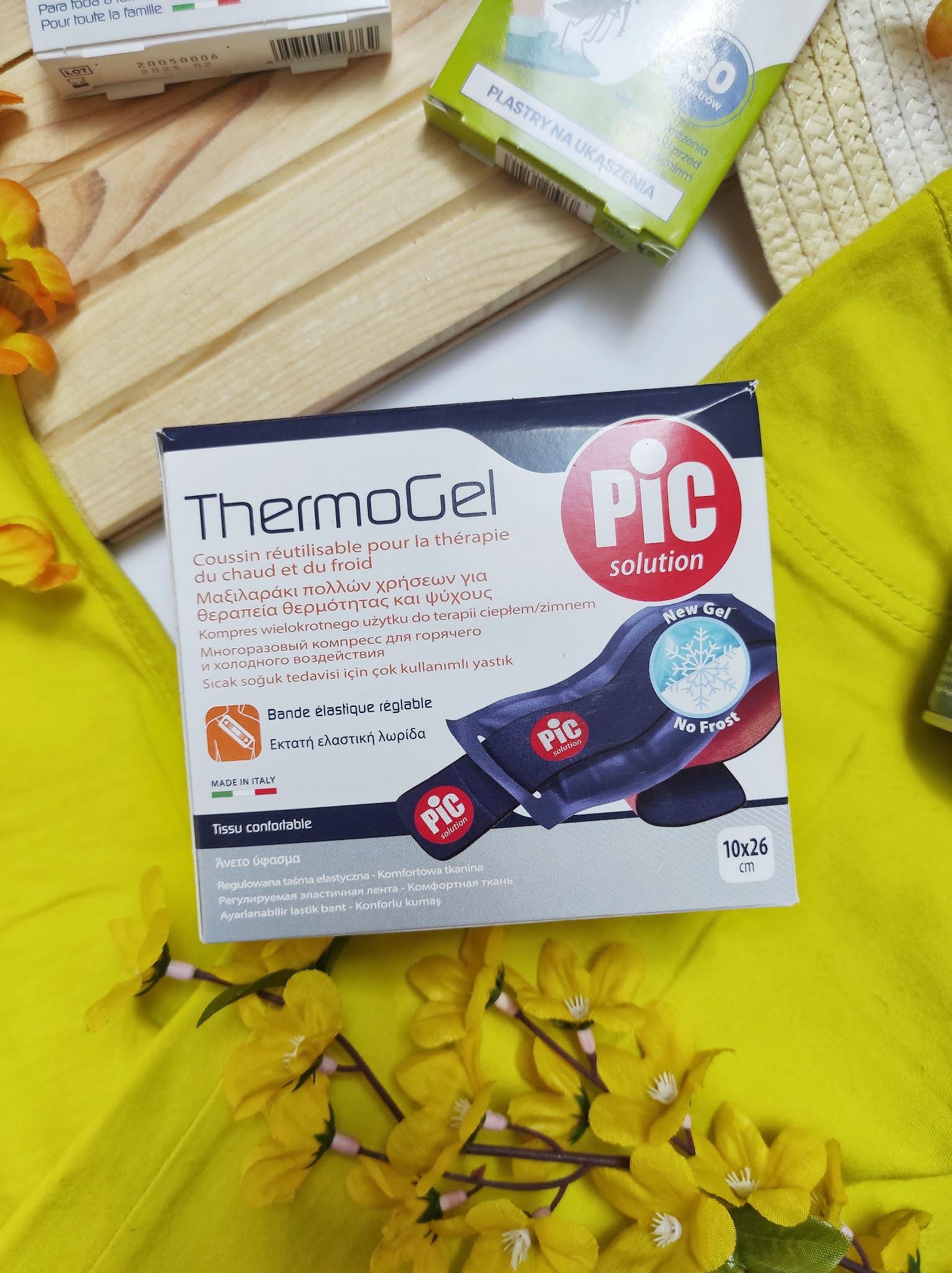 Thermogel kompres żelowy do wielokrotnego użytku Pic