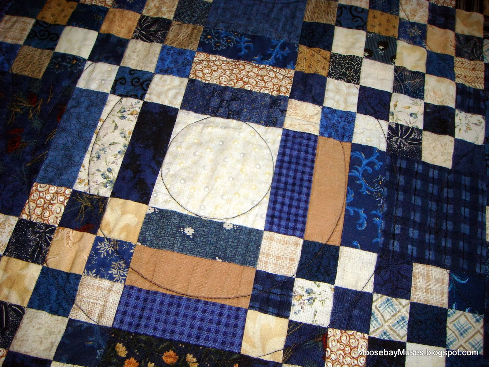 circle quilting