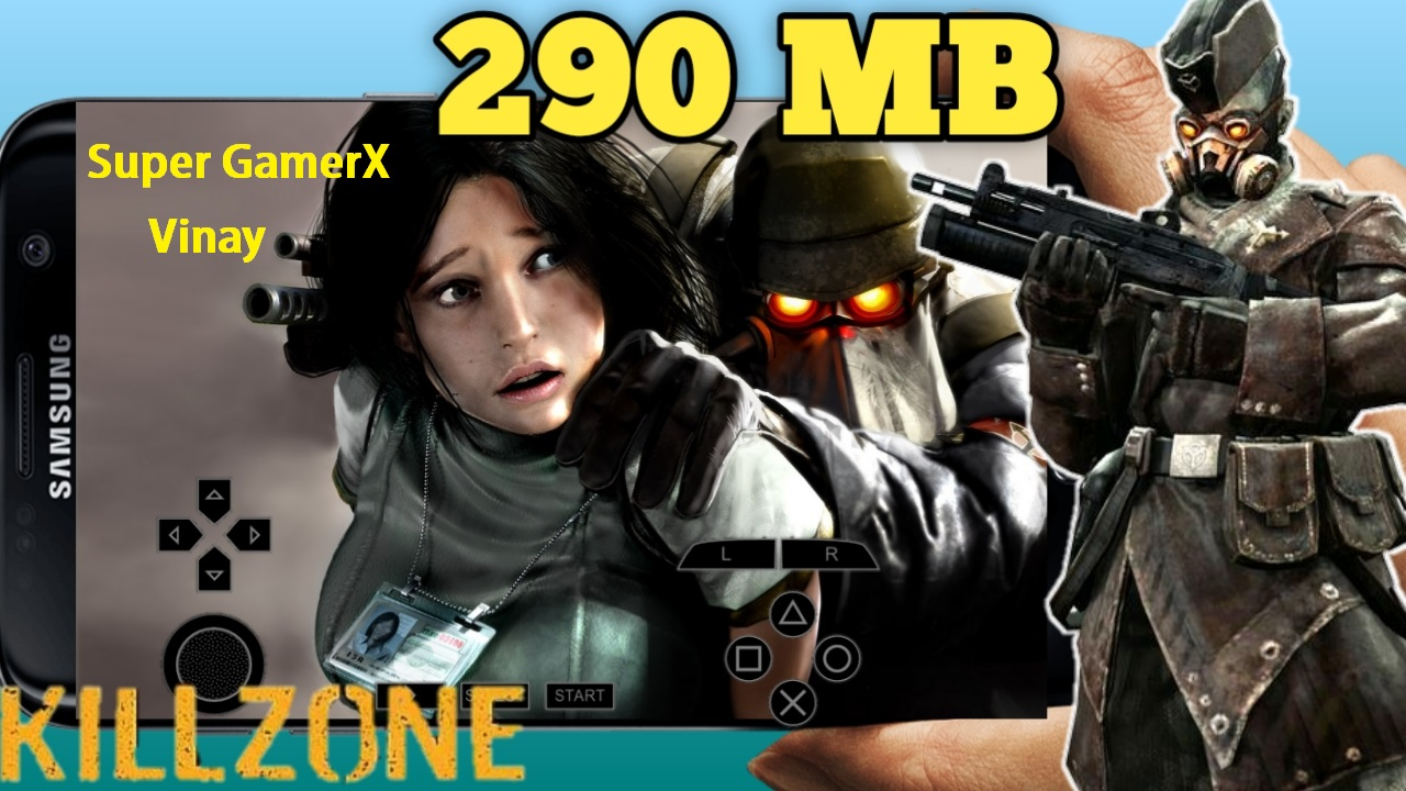 290 Mb Killzone Liberation Psp Game Iso Highly Compressed Super