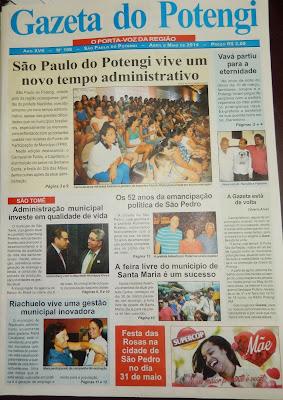 Resultado de imagem para fotos da gazeta do potengi