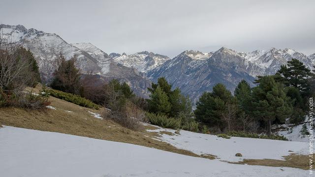 Senderismo valle de Tena Huesca Ibon de Piedrafita