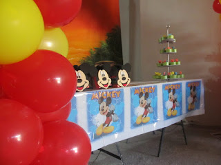 DECORACION MICKEY MOUSE 7 FIESTAS INFANTILES RECREACIONISTAS MEDELLIN