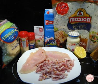 ingredientes-caliente-rollos-pollo